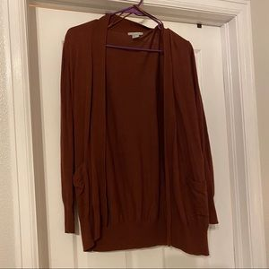 H&M Brown Cardigan with pockets